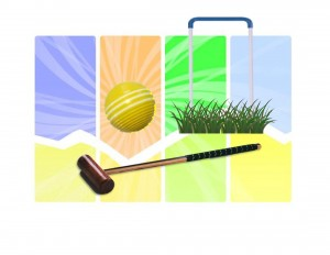 Croquet Logo, light